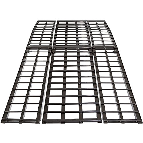 Rage Powersports Black Widow BW-9440-HD 8 ft. 4-Beam Arched Folding Motorcycle Ramp
