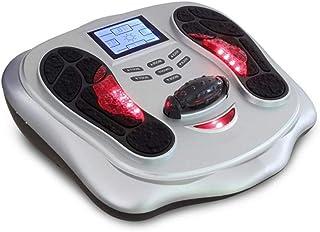 リモコン フットマッサージ機、電気指圧式フットマッサージャー(熱、ディープニーディング、ローリング、および空気圧縮)、Fe家庭用およびオフィス用 インテリジェント, white