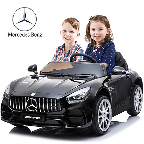 Buy Kuntai Electric Cars for Kids, Mercedes Benz Car for Kids, 2 Seater Battery Powered Cars for Kid...