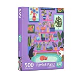 Purrfect Plants Puzzle by BADGE BOMB