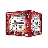 Prince August - Pack Aérographes & compresseurs AE06, peintures , accessoires + UC01 - 3760165150602