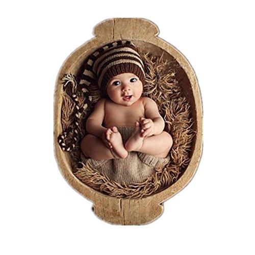 Binlunnu, cappello a uncinetto per neonati ideale per travestimenti o per foto ricordo