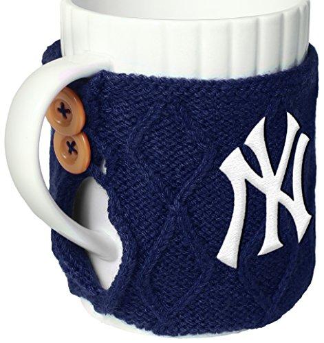 New York Yankees Cable Knit Sweater Mug