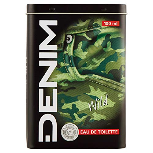 Denim Wild Metal Box EDT Vaporisateur/Spray für Ihn 100ml