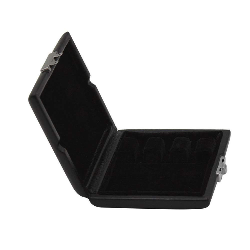 LinHut Exquisito Reedcase PU Cubierta de Cuero Reed Caja de Almacenamiento Caja para Oboe Bassoon 3pcs Cañas Instrumento Musical Protector: Amazon.es: Hogar