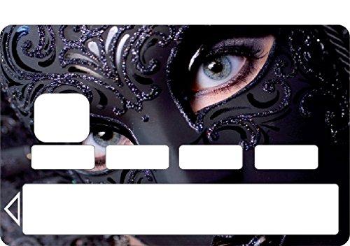 StickersNews 1134 - Adesivo per Carta di Credito, Motivo Donna