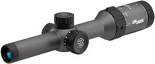 Sig Sauer Whiskey 5 1-5x20 SFP Standard Duplex Illuminated Riflescope, 1