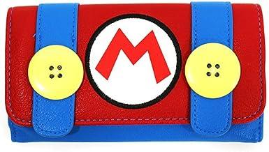 任天堂 スーパーマリオブラザース マリオ 三つ折り長財布(小銭入れ無し)