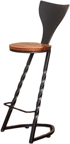 MYS C-K-P Vintage Chaise en Fer forgé Chaise Chaise Haute Table à Manger et chaises café Bar Tabouret