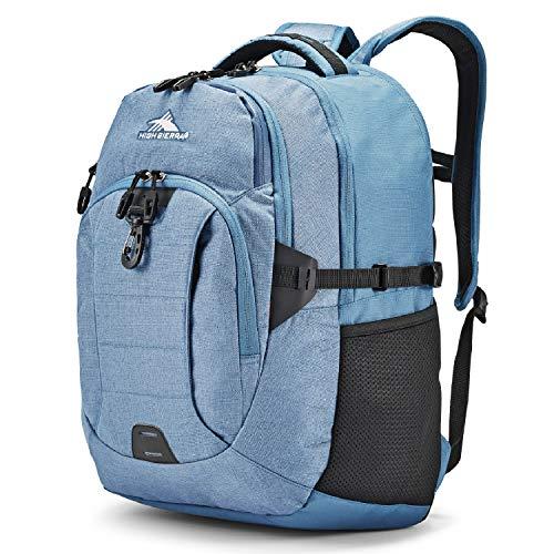 High Sierra Jarvis Laptop Backpack, Graphite Blue/Black, One...