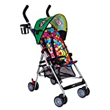 Grateful Dead Ultralight Umbrella Stroller, with Canopy, and Shoulder Strap by Daphyl's