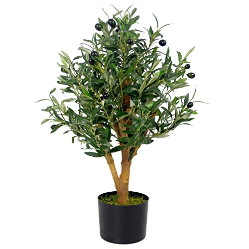 Leaf Hoja de 65 cm Artificial de Olivo de Gama Premium