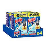 Bloom Insecticida Eléctrico Mosquitos 1 Recambio- Pack de 4, Total: 4 Unidades
