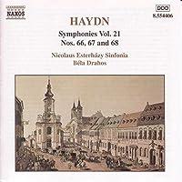 Symphonies Vol 21 Nos 66-67 & 68