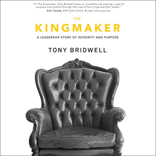 The Kingmaker audiobook cover art