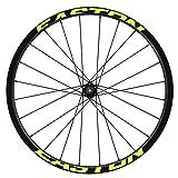 Pegatinas Llantas Bicicleta 29' WH41 Easton VINILOS Ruedas Amarillo Fluor