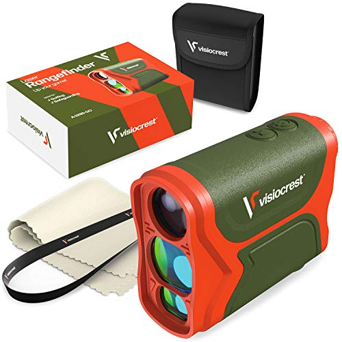 A-3280-GO Laser Range Finder for Golf, Hunting and Archery - 3000FT High Precision Distance Measuring Rangefinder - Professional Scan Fog and Speed Mode