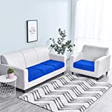 House of Sensation Solid Color Sofa Cushion Cover Elastic Protector Sofa Cover Personality