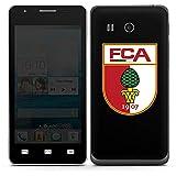 DeinDesign Huawei Ascend G525 Folie Skin Sticker aus Vinyl-Folie Aufkleber FC Augsburg Fanartikel Fußball