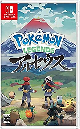 Pokemon LEGENDS アルセウス -Switch (【早期購入特典】プロモカード「アルセウスV」 ×1 同梱)