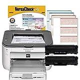 VersaCheck Canon M15 MX MICR Laser Check Printer and VersaCheck Gold Check Printing Software Bundle, White (M15MX)