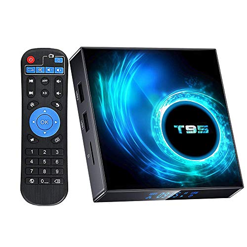 Android 10.0 TV Box,EASYTONE Android TV Box 4GB Ram 32GB ROM Allwinner H616 Quad-Core Support Dual WiFi 2.4G+5G Bluetooth 4K 6K Ultra HD H.265 3D Smart Media Player