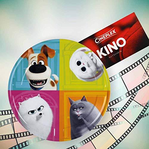 Pets 2 Cineplex Filmdose mit 1 Kinogutschein 2D