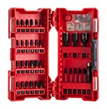 Milwaukee 4932430905 Estuche De 33 Puntas Shockwave G2, 0 V, Rosso