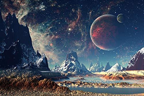 MTAMMD Puzzles Beautiful Planet Puzzle 1000 1500 2000 Piezas Rompecabezas para Adultos Rompecabezas De Madera Rompecabezas De Dibujos Animados para Niños Juguetes Educativos Regalos-1000Pieces