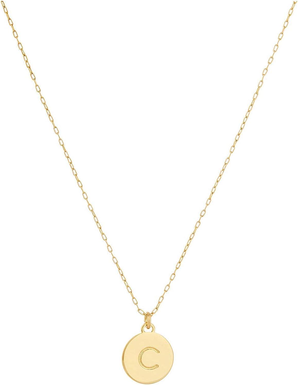 Kate Spade New York C Mini Pendant Necklace