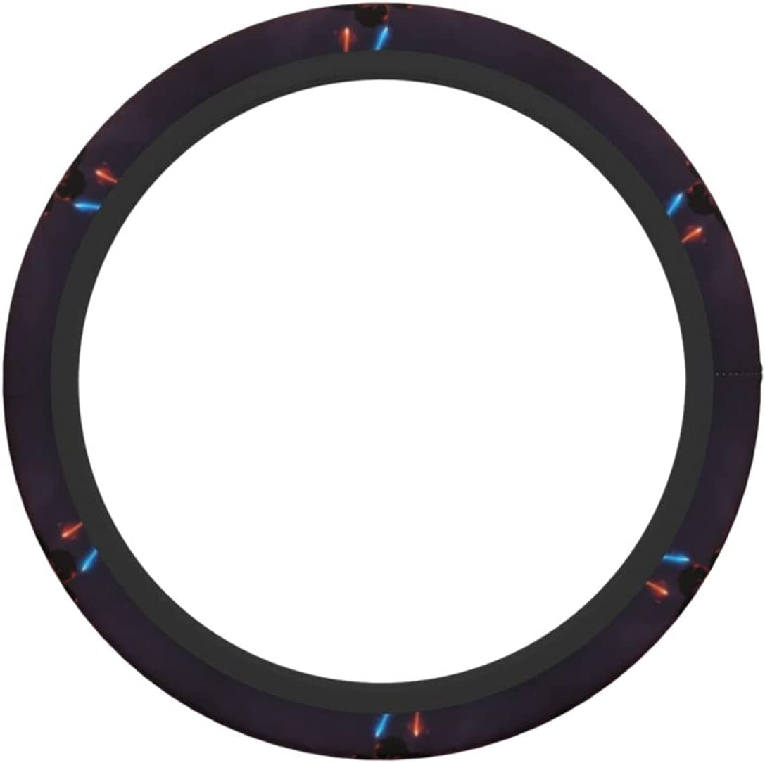 Steering Wheel Cover Special Campaign New sales Anti-Slip Durable Elasticity 15 Fash Inches