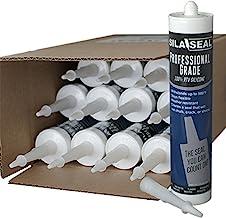 SILA-SEAL Clear Professional Grade 100% RTV Silicone with reclosable Nozzle, (case of 12)