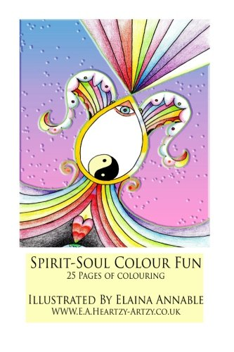 spirit & soul colouring book 1: spirit & soul colouring book for all ages 25 pages of fun (Volume 1)