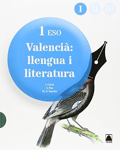 Valencià: llengua i literatura 1 - 9788430789795