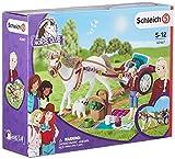 Schleich 42467 Horse Club play set - carruaje para el espectáculo ecuestre, juguetes a partir de 5 años