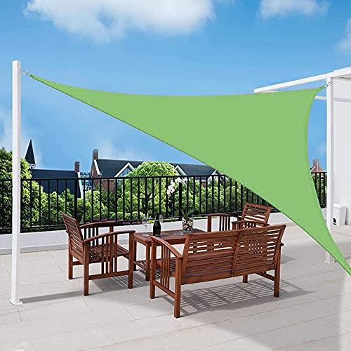 HMHMVM Toldo de Sombra, toldo Triangular Impermeable, toldo con Bloqueo UV, toldo de jardín para cocheras, terrazas al Aire Libre, Balcones, Camping