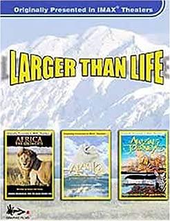 Larger Than Life - Amazing Journeys, Alaska, Africa: The Serengeti (Large Format 3-Pack) (Boxset)