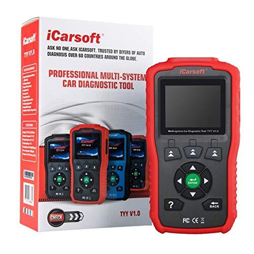MISTER DIAGNOSTIC iCarsoft TYT V1.0 Interfaz de diagnóstico Profesional para Toyota y Lexus
