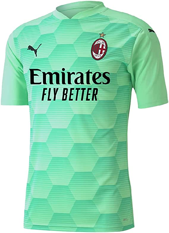 PUMA Maglia Portiere AC Milan Home 2020/21 Verde