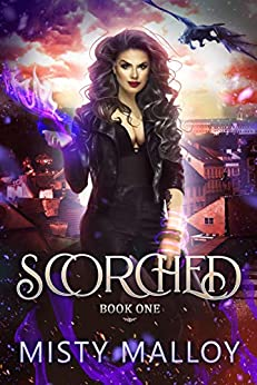 Scorched: A Reverse Harem Dragon Shifter Romance (The Orestaia Series Book 1) by [Misty Malloy]
