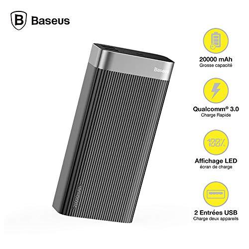 Baseus 20000mAh - QC3.0 + USB-C PD 18W (PPALL-APX01)