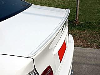 OriginalEuro Rear Trunk Lid Wing Sport Spoiler Lip for BMW E46 3 Series M3 M Sedan + Cabriolet + Coupe & VW Passat B6 + Jetta MK5 Sedan - R Line