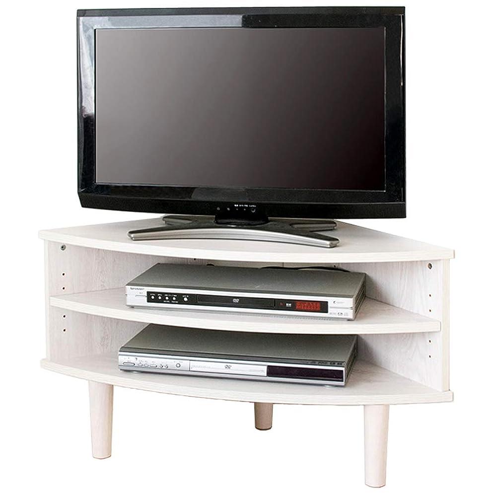 アクセスできないクリップ蝶浮くアイリスプラザ テレビ台 32型 26型 22型 コーナー ブラウン 幅81.5㎝ IR-TV006