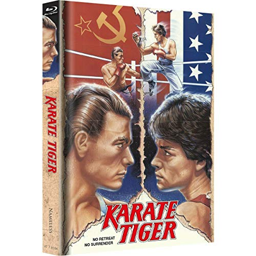 Karate Tiger - Limited Mediabook 333 Edition - Cover B - Erstmals komplett in Deutsch Uncut - Blu-ray