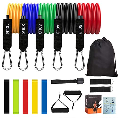 (20% OFF) 16 Pcs Resistance Bands Set $15.95 – Coupon Code