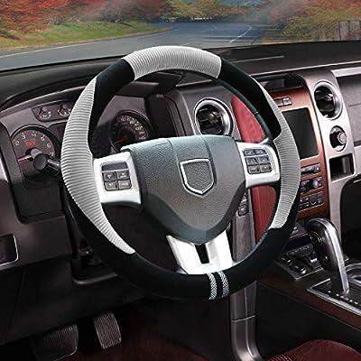Akface Steering Wheel Cover Universal 15 inch S...
