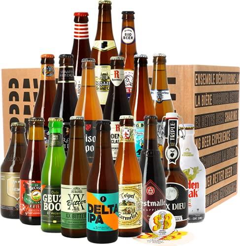Assortiment Vive la Belgique - 18 bières belges - Idée cadeau
