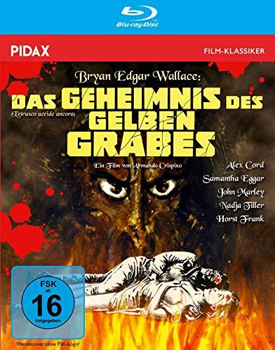 Bryan Edgar Wallace: Das Geheimnis des gelben Grabes - Remastered Edition / Spannender Gruselkrimi mit Starbesetzung + Bonusmaterial (Pidax Film-Klassiker) [Blu-ray]