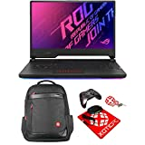 ASUS Extreme ROG Strix Scar 15 15.6' 300 Hz Intel Core i9 10th Gen 10980HK (2.40 GHz) GeForce RTX 2070 Super 32 GB Memory 2 TB 970 EVO Plus NVMe SSD Windows 10 Pro 64-bit G532LWS-XS96 Gaming Laptop