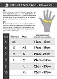 Zoom IMG-1 fitgriff guanti palestra con supporto